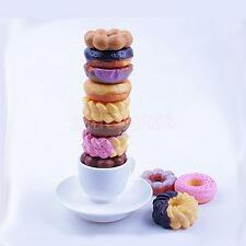Kids Child Donut on Dunut Stack Up Play Balance Game Toy Cookies Stacker Set