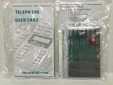 NEW Nortel Norstar Meridian M7000 Lit Button Pack M7208 M7310 M7324 M7100