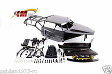 KM Roll Cage with Body shell for 1:5 BAJA 5B 5T 5SC DARK GRAY HPI ROVAN KM NIB