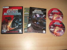 Star Wars GALACTIC BATTLEGROUNDS BATTLE GROUNDS  Pc Cd Rom  FAST POST