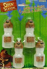 (4) OPEN SEASON BUBBLES & WANDS ~ Birthday Party Supplies Favors Toys Prizes