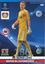 082 BERND LENO BAYER LEVERKUSEN  CARD CHAMPIONS LEAGUE ADRENALYN 2015 PANINI