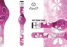 "Orologio Zitto Mini silicone led impermeabile Limited Edition ""My Pink day"""