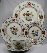 HAVILAND LIMOGES CATHAY 5 Pc Place Setting (Dinner, Salad, B&B, Cup, Saucer)