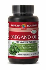 Wild Oregano Oil - Oregano Oil 1500mg - Anti Aging - 60 Capsules