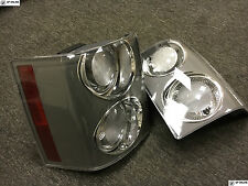 RANGE ROVER L322 VOGUE SUPERCHARGED 2002-2009 CLEAR AND GREY REAR LIGHTS PAIR