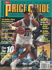 Sports Card Price Guide Monthly (Apr. 1994) GD Mourning vs. Shaq