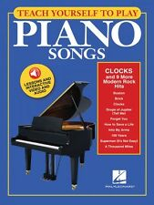 Teach Yourself to Play Piano Songs: Clocks & 9 More Modern Rock Hits 000150156