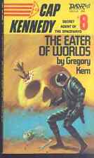 CAP KENNEDY #8 The Eater of Worlds by Gregory Kern (1974) DAW SF pb