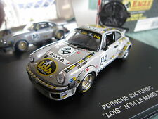 DV5525 UNIVERSAL HOBBIES EAGLE'S RACE PORSCHE 934 TURBO #84 LE MANS 1979 1/43