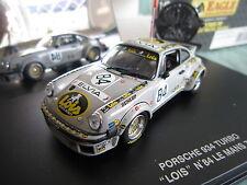 DV5525 UNIVERSAL HOBBIES EAGLE'S RACE PORSCHE 934 TURBO #84 LE MANS 1979 1/43