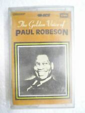 PAUL ROBESON THE GOLDEN VOICE CASSETTE INDIA MAR 1995