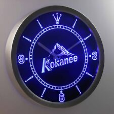 Kokanee Beer Bar 3D Neon Sign LED Wall Clock NC0115-B