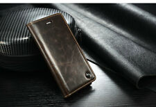 Di alta qualità lusso Genuine Leather Flip Cover Custodia per Apple iPhone 6