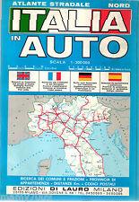 ATLANTE STRADALE ITALIA IN AUTO NORD=SCALA 1:300.000=CM 24X17