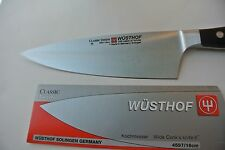 "New  Wusthof Classic Ikon 6"" Wide Chef's/Cook's,NSF, PEtec Knife #4597/16 cm"