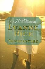 Sandcastles by LLuanne Rice - Large Print - Hardcover