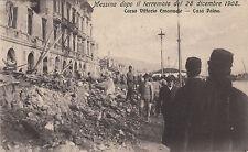 P0806 - MESSINA - CORSO VITTORIO EMANUELE CASA PAINA VIAGGIATA 1909