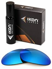 Polarized IKON Iridium Replacement Lenses For Oakley Minute 1.0 Ice Blue Mirror