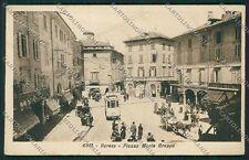 Varese Città PIEGHINA cartolina EE6826