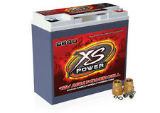 XS Power S680 Racing 12 Volt 1000 Amps 12V AGM Power Cell Battery Deep Cycle
