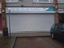 SECURITY ROLLER SHUTTER - electric shopfront shutters - fitting available South