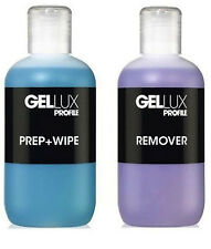 Salon System Gellux Profile UV/LED Gel Systems Prep + Wipe & Remover 250ml