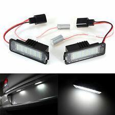 2x 18SMD LED Number License Plate Light Lamp For VW GOLF Golf V VI EOS Phaeton