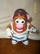 Ms. Miss Mrs. Flo-Tato Head from Progressive Insurance Mr. Potato Head