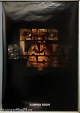 Cinema Poster: RISE OF THE PLANET OF THE APES 2011 (Adv One Sheet) James Franco