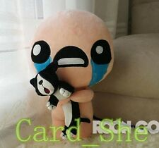 The Binding of Isaac Soft Plush Toy ISSAC with Cat Pillow  Doll 35 cm PP Cotton