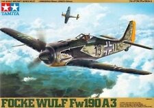 Tamiya America [TAM] 1:48 Focke Wulf FW190 A3 Plastic Model Kit TAM61037