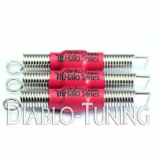 Set of 3 SILENT Red Noiseless guitar Tremolo springs - Halo Series for Ibanez