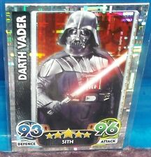 2015 Topps Star Wars Attax Darth Vader SP Cracked Ice Foil #202 Force Awakens NM