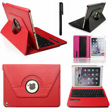 360 Swivel Rotating Leather Case Cover with Bluetooth Keyboard For iPad 4 3 2