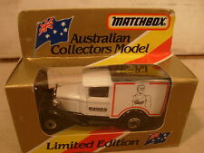1981 MATCHBOX SUPERFAST AUSTRALIAN COLLECTORS MB38 BONDS FORD MODEL A MIB