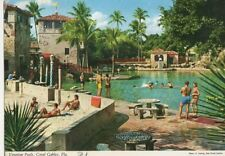 Venetian Pools Coral Cables Florida USA 1972 Postcard 457a