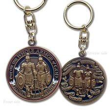 Whole Armor of God Key Chain with Swivel