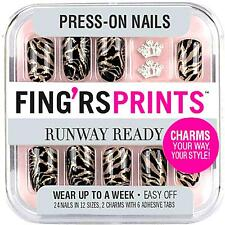 Fing'rs Prints Runway Ready Press-On Nails, SHOW STOPPER 31048