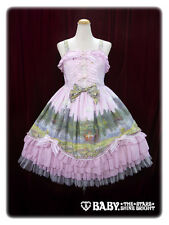 Sweet Classic Lolita BTSSB Labyrinth in the Reminiscent Mirror Elaine Pink JSK