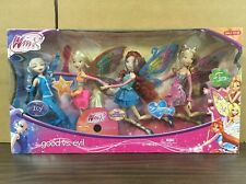 Winx Club Jakks Pacific Good Vs Evil 4 Pack Icy Bloom Stella Flora Enchantix