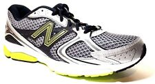 New Balance Men's M580 Running Shoe,Silver/Lime,10.5 D US