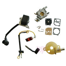 Carburetor Ignition Coil Switch Oiler Kit For HUSQVARNA 136 137 141 142 Chainsaw