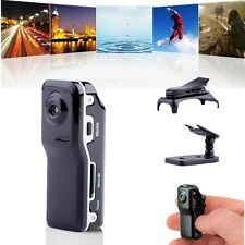 Mini Fotocamera Digital MD80 DV HD DVR VIDEO Sport Spia USB SD/TF Moto Casco