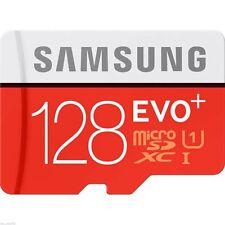 2Pc 128GB micro SD SDXC Evo Class 10 UHS-I 80MB/s TF Memory Card 128G Galaxy