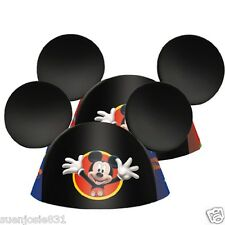 Disney Mickey Mouse Ears Hats 8pcs Party Favors Supplies