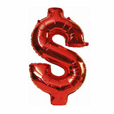 "40"" Dollar Shaped Giant Foil Balloon Casino Card Night Party Decoration"