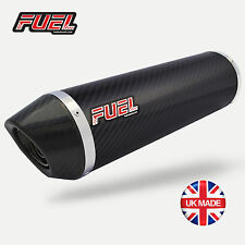 Bandit GSF600 Diablo Carbon Fibre Round Mini UK Street Legal Exhaust + Link Pipe