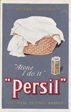 C3536) ALONE I DO IT PERSIL THE IDEAL CLOTHES WASHER.
