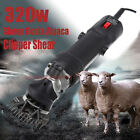320w Sheep & Goat Clipper 110v Electric Shearing Machine 2400RPM with Blade